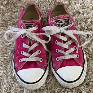Girls' CONVERSE Hot Pink Sneakers - Size 13